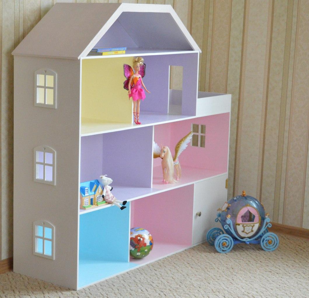 Кукольный домик своими руками - 66 фото создания игрушечного 60